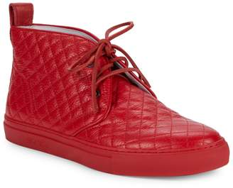 Del Toro Quilted Leather Ankle Boots