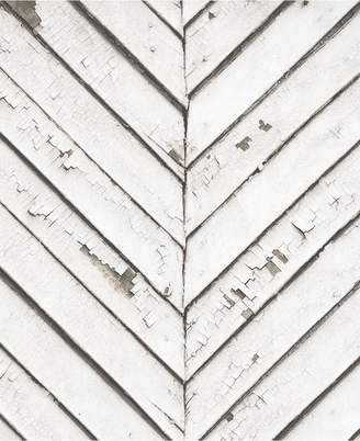 Graham & Brown Parquet Wood White Wallpaper