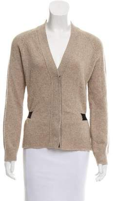 Dries Van Noten Wool V-Neck Cardigan