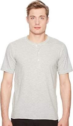 Billy Reid Men's Short Sleeve Hunter Henley