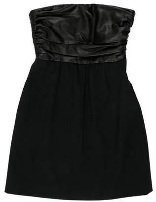 Theory Wool Blend Sleeveless Dress