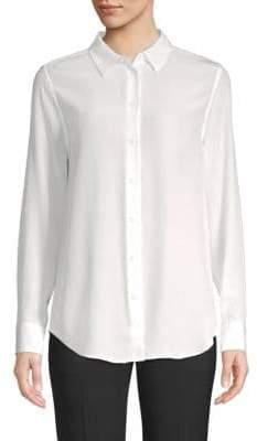 Equipment Silk Button-Down Blouse