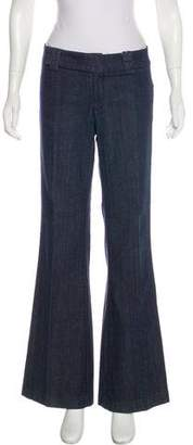 Tory Burch Flap Pocket Trouser Jeans