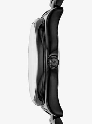 Michael Kors Colette Black-Tone Watch