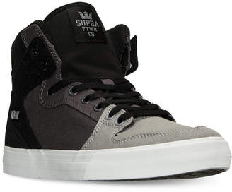 Supra Men's Vaider Casual Sneakers from Finish Line $89.99 thestylecure.com