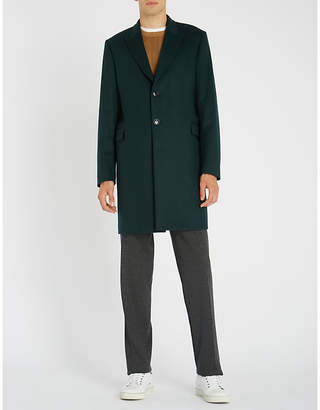 Paul Smith Epsom wool and cashmere-blend coat