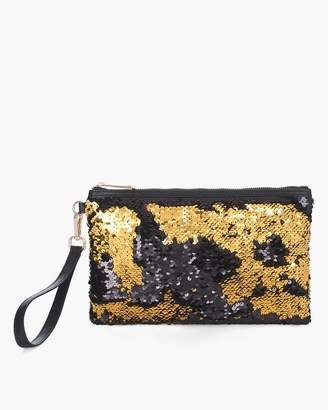 Chico's Chicos Sequined Clutch