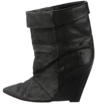 Isabel Marant Wedge Mid-Calf Boots