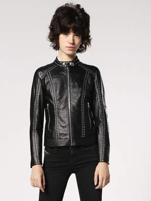 Diesel Leather jackets 0TAQN - Black - M