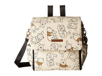 Petunia Pickle Bottom Sketchbook Winnie the Pooh Boxy Backpack - Disney Collaboration