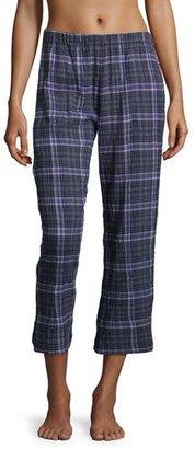Skin Donna Lounge Pants, Plaid $135 thestylecure.com