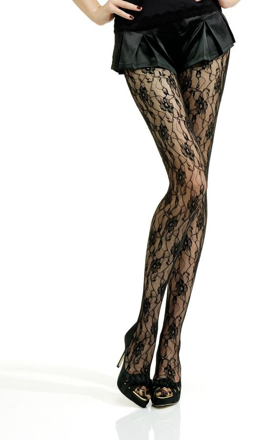 Jonathan Aston Vintage Sweet Rose Tights