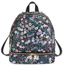 Karl Lagerfeld Paris Floral Print Backpack