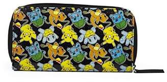 Pokemon FAB Starpoint Pikachu, Squirtle and Charmander Zip Around Wallet