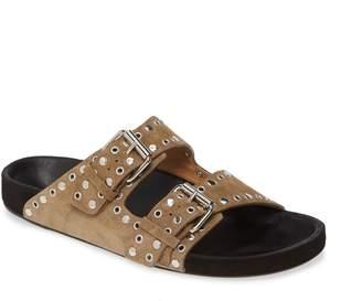 Isabel Marant Lennyo Double Strap Slide Sandal