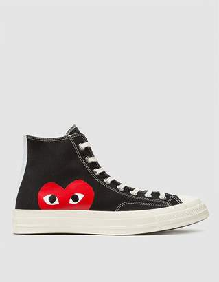 Comme des Garcons Play Converse Chuck Taylor High in Black