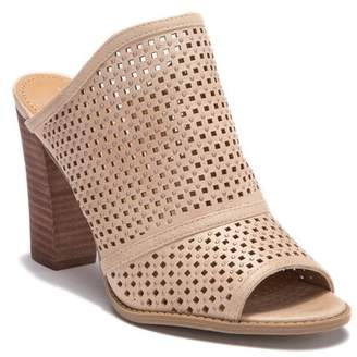 Report Raimee Perforated Slip-On Mule