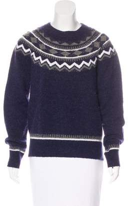 Draper James Wool & Alpaca Patterned Sweater
