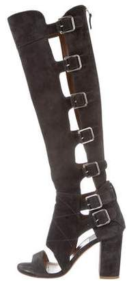 Laurence Dacade Buckle-Accented Gladiator Sandals
