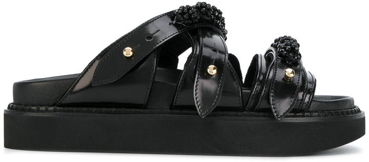 Simone Rocha floral sandals