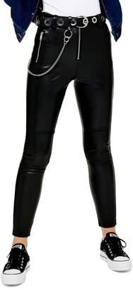 Topshop Skinny Biker Trousers