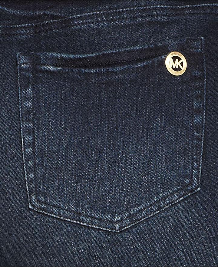 MICHAEL Michael Kors Size Skinny Jeans, Stellar Wash