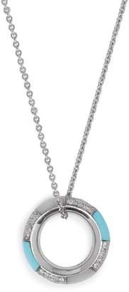 Marc Alary Diamond & 18kt white gold necklace