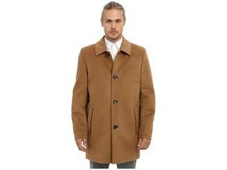 Vince Camuto Storm System Wool Melton Carcoat Men's Coat
