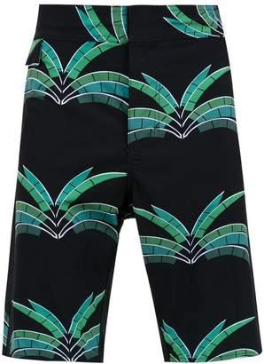Trunks Amir Slama printed swim shorts