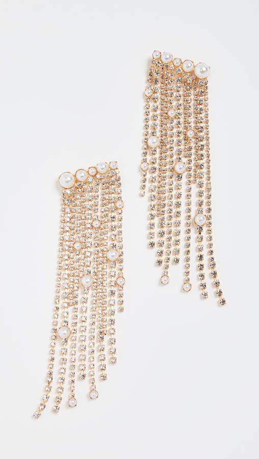 Elizabeth Cole Fringe Earrings