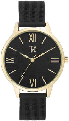 INC International Concepts I.N.C. Women's Black Stainless Steel Mesh Bracelet Watch 38mm, Created for Macy's
