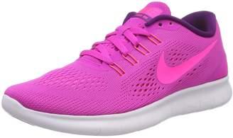 Nike free RN mens running trainers 831508 sneakers shoes (US 9, cyan laser orange black blue 402)