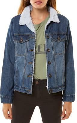 O'Neill Clemente Fleece Lined Denim Jacket