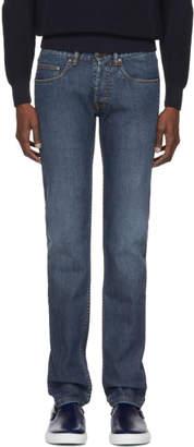 Brioni Blue Vens Skinny Jeans