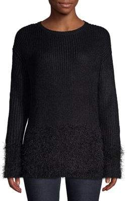 Lord & Taylor Ribbed Roundneck Sweater