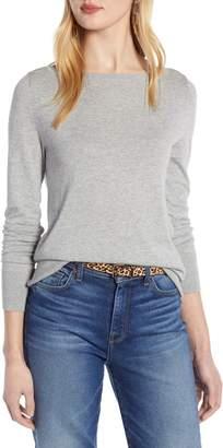Halogen Bateau Neck Sweater