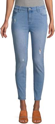 Core Life Distressed Skinny-Fit Jeans