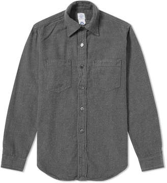 Post Overalls Flannel Shirt