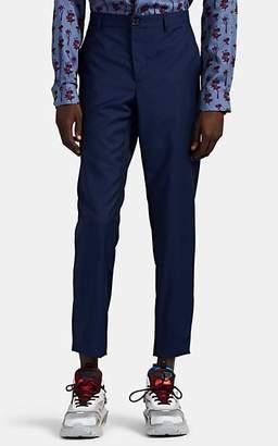 Paul Smith Men's Wool-Mohair Slim Trousers - Royal Blue
