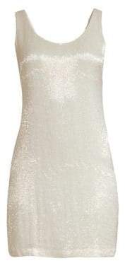 Joie Jaminly Sleeveless Beaded Dress
