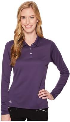 adidas Performance Long Sleeve Polo Women's Long Sleeve Pullover