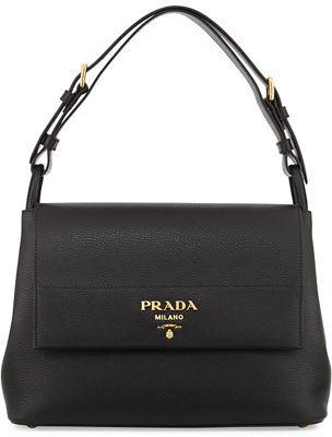 Prada Vitello Daino Shoulder Bag $2,090 thestylecure.com