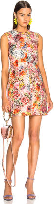 Valentino Printed Sleeveless Mini Dress