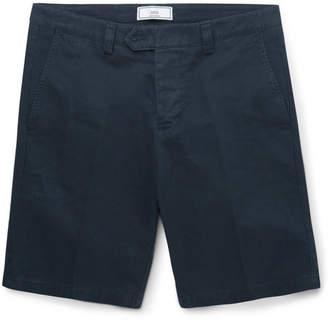 Ami Slim-Fit Cotton-Twill Chino Shorts