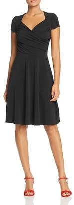 Leota Short-Sleeve Sweetheart Dress