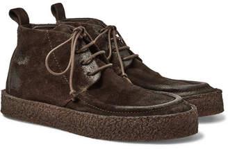 Marsèll Washed-Suede Chukka Boots