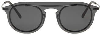 Dolce & Gabbana Black Single Lens Sunglasses