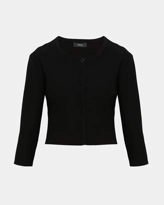 Theory Knit Cropped Cardigan