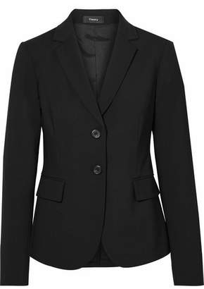 Theory Carissa Wool-blend Blazer - Black