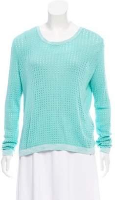 Rag & Bone Long Sleeve Open Knit Sweater